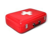 Valise de premiers secours illustration de vecteur