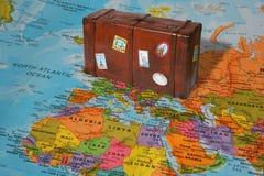 Valise de voyage Photos stock