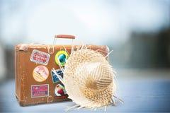 Valise de voyage Photographie stock