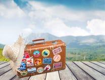 Valise de voyage Photos libres de droits