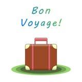 Valise de voyage de fève Illustration de vecteur Photos stock