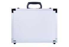 valise grise en métal Images libres de droits