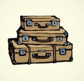 valise Retrait de vecteur Photo stock