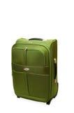 valise verte Photo stock