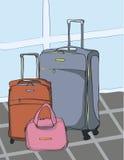 Valises de voyage Image libre de droits