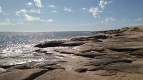 Valizas de l'Uruguay de plage d'océan Images stock