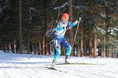 Valj Semerenko - biathlon arkivbild