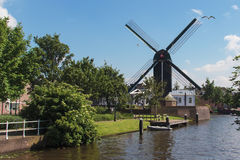 Valk de Put windmill Stock Photos