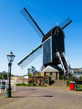 Valk de Put windmill. Windmill Valk de Put at the center of Leiden city, Netherlands Royalty Free Stock Images