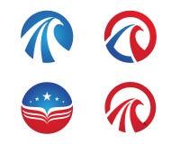 Valk Logo Template Stock Afbeeldingen