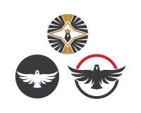 valk, ontwerp van de het pictogram het vectorillustratie van het adelaarsembleem vector illustratie