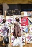 valkampanj i Uganda Royaltyfria Foton