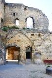 Valkenburg城堡废墟  库存照片