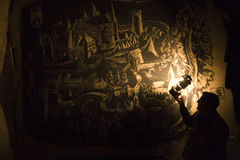 Valkenburg in carbone di legna Immagine Stock