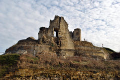 Valkenburg castle ruin Stock Images