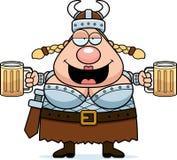 Valkyrie пьяное Стоковые Изображения