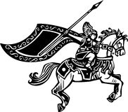 Valkyrie on Horse Stock Photography