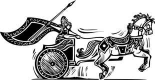 Valkyrie triumfvagn Arkivbild