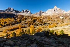 Vallée de la Clarée in Frankreich Stockfoto