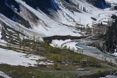 vallée Image stock
