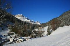 Vallée allemande de montagne Photographie stock libre de droits