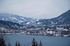 Vallée alpestre Image libre de droits