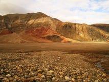 Vallée arctique photographie stock