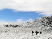 Vallée arctique Images libres de droits