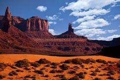Vallée Arizona de monument Photos stock