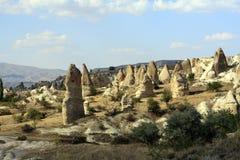 Vallée, Cappadocia, Turquie Image libre de droits