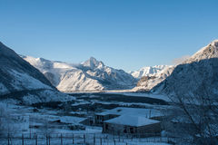 Vallée caucasienne Image stock