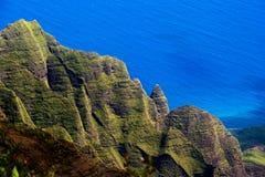 Vallée Cloudscape de Kalalau images libres de droits