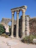 Vallée colorée des ruines - Ephesus antique Image libre de droits