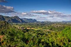Vallée Cuba de Vinales Image libre de droits