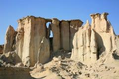 Vallée d'étoiles à l'île de Qeshm Photo stock