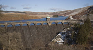 Vallée d'allant, Rhayader, Powys Photos stock