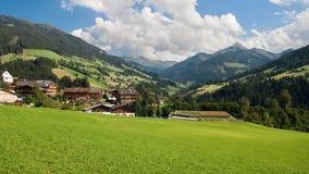 Alpbachtal Photographie stock libre de droits
