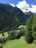 Vallée d'Alpen Images libres de droits