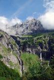 Vallée d'Alpes Images libres de droits