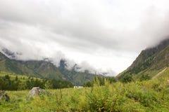 Vallée d'Altai Image libre de droits