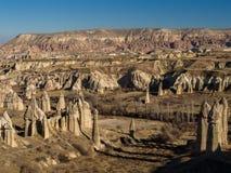 Vallée d'amour dans Cappadocia, Turquie Image libre de droits