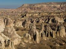 Vallée d'amour dans Cappadocia, Turquie Photos stock