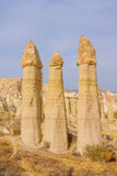 Vallée d'amour dans Cappadocia, Turquie Image stock