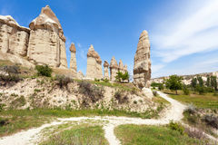 Vallée d'amour dans Cappadocia Turquie Photographie stock