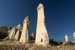 Vallée d'amour, région de Goreme, Turquie Photos libres de droits