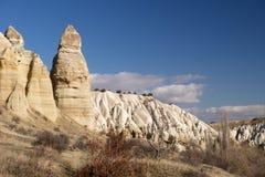 Vallée d'amour, région de Goreme, Turquie Image libre de droits