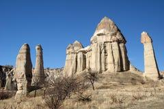 Vallée d'amour, région de Goreme, Turquie Images stock