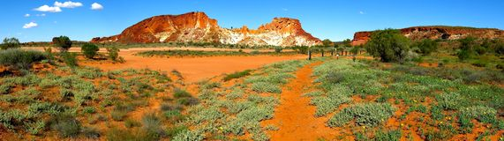 Vallée d'arc-en-ciel, territoire du nord, Australie images stock