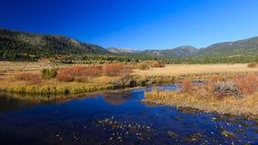 Vallée d'espoir, couleur d'automne Image libre de droits
