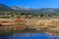 Vallée d'espoir, couleur d'automne Photographie stock
